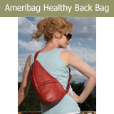 Ameribag Healthy Back Bag Tote Sling Bagletts Leather