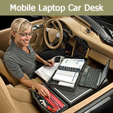 Mobile Laptop Car Desk for Professionals on the Go!