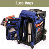 Zuca Bag: Ice Skate School Travel Artist Makeup Pro