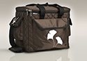 Business Tote - Brown Gingko
