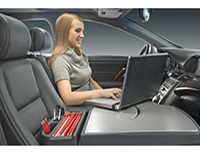 Car Laptop Desk, Car Computer Workstation, Auto Exec Mobile Desk Organizer