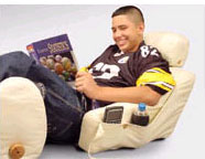 Backrest Pillow & Bed Lounger - Great for Studying