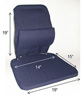 Seat Back Rest Cushion - Sacro Ease Trimet