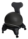 Ergonomic Fit Ball Exercise Chair - Home and Office