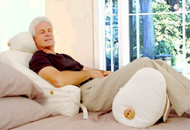 paired with the bed lounger bed rest pillow with arms the leg lounge completes a perfect support system - Bed Rest Pillow With Arms