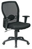 Office Star Worksmart Chair 599302 - Mesh Task Chair with Adjustable Lumbar Support