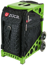 Zuca Mystic Bag with Frame Flashing Wheelset