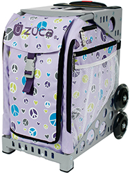 Zuca Peace Bag with Frame Flashing Wheelset