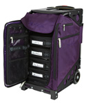 Zuca Pro Artist Case - Royal Purple/Black