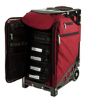 Zuca Pro Artist Case - Ruby Red/Black